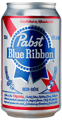 bière Pabst Blue Ribbon