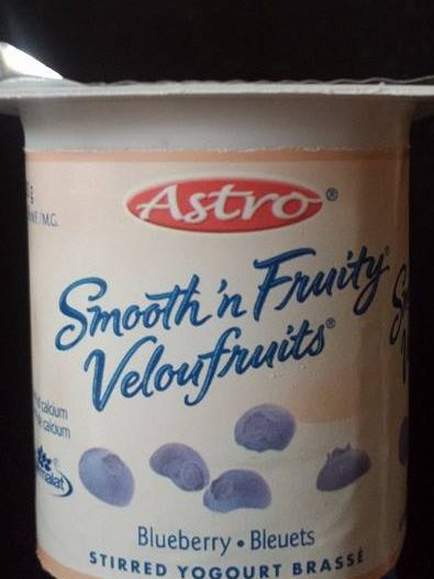 Yogourt Astro VelouFruits aux bleuets