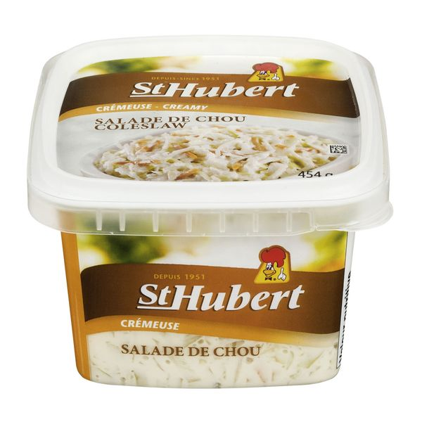 Salade de chou crémeuse St-Hubert