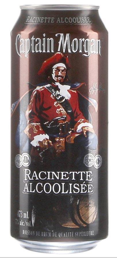 Captain Morgan Racinette Alcoolisée