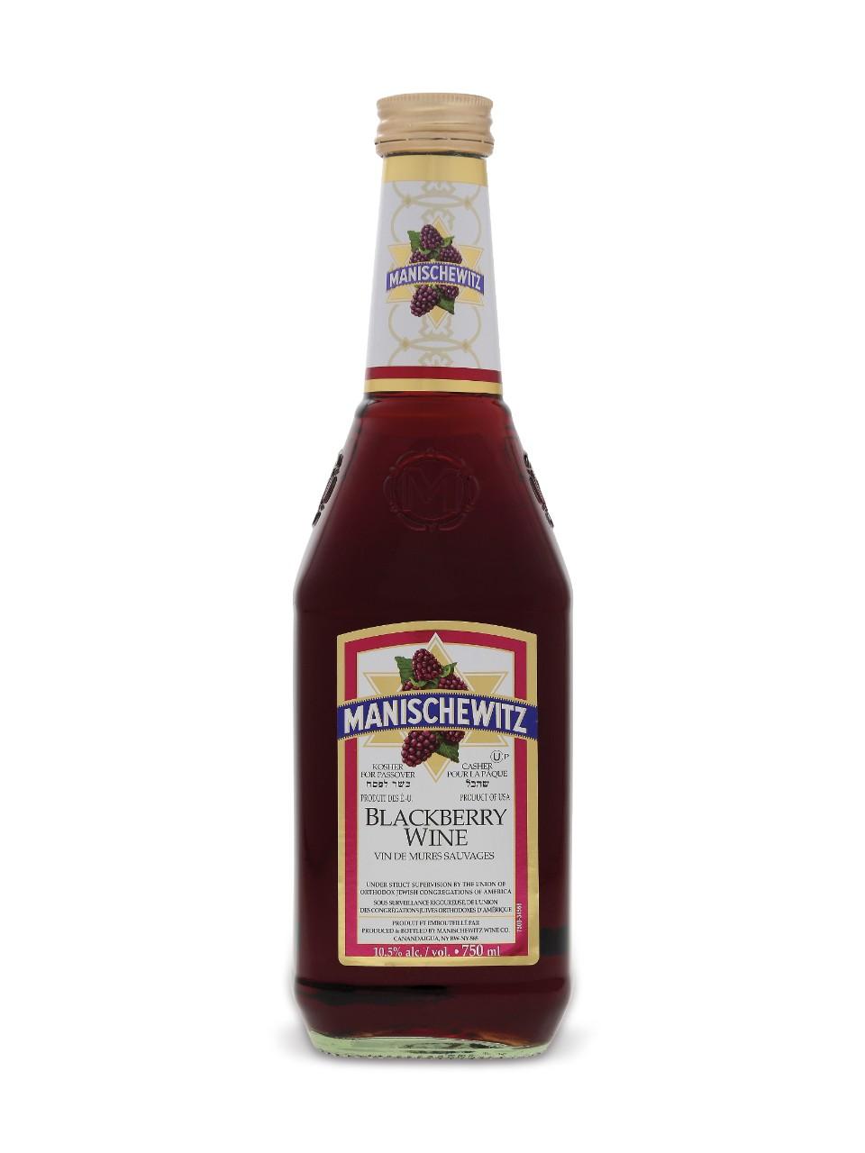Vin Manischewitz de mûres sauvages