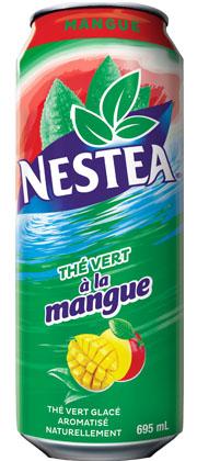 Thé vert à la mangue de Nestea