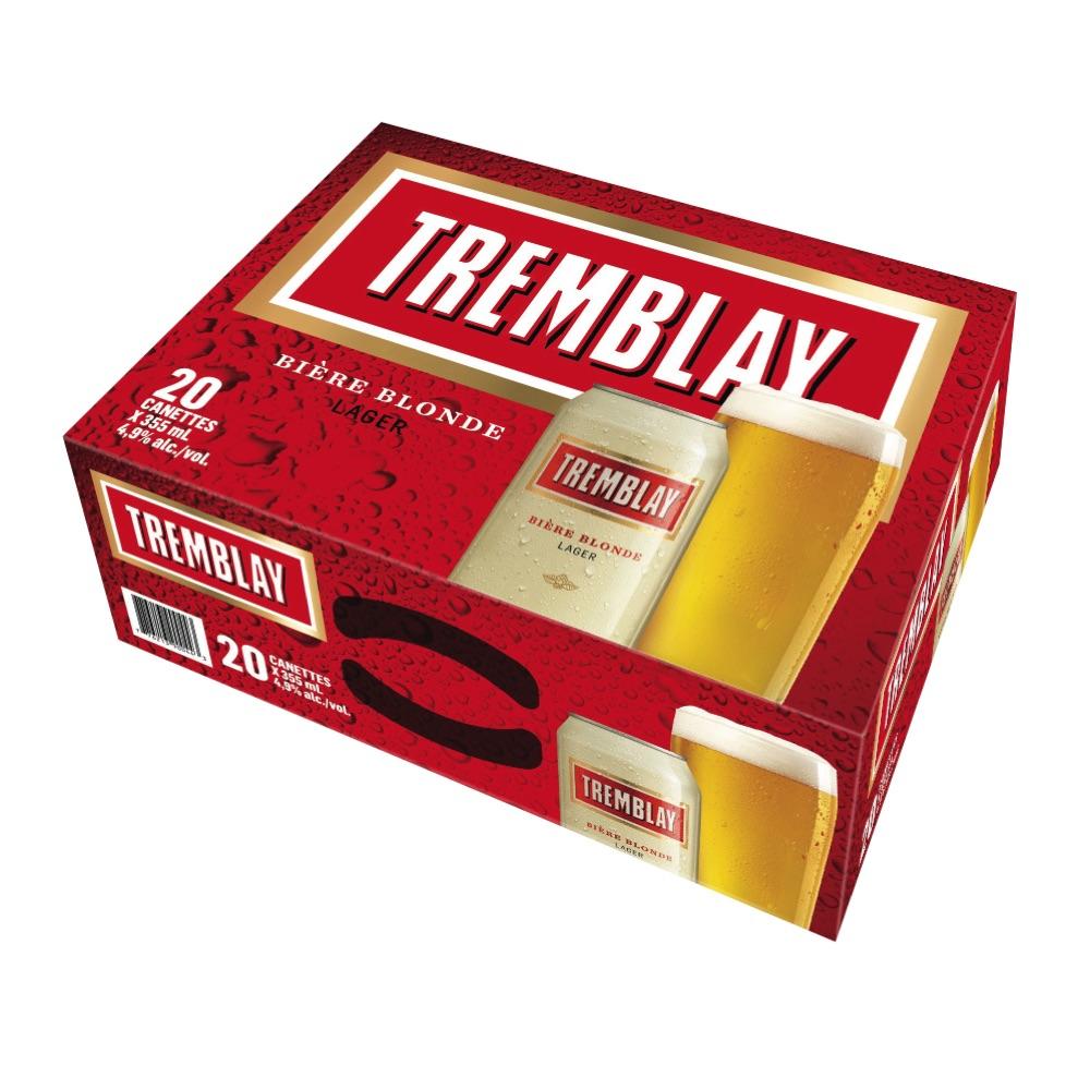 Bière blonde Tremblay