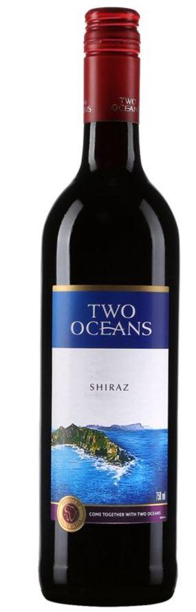 vin rouge Two Oceans Shiraz 2016